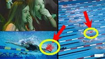 Rio Olympics 2016 - Menstrual blood in Swimming pool - womens 200m freestyle