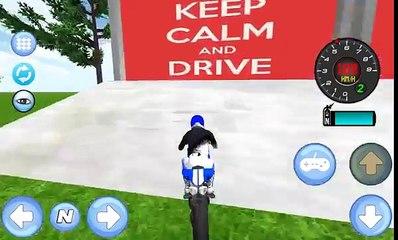 La policía Moto Simulador 3D Android Juego HD