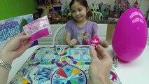 La familia de Juegos de Diversión para los Niños de la Princesa de Disney Congelado Plastilina Kinder Sorpresa Huevos de Juguetes Canto