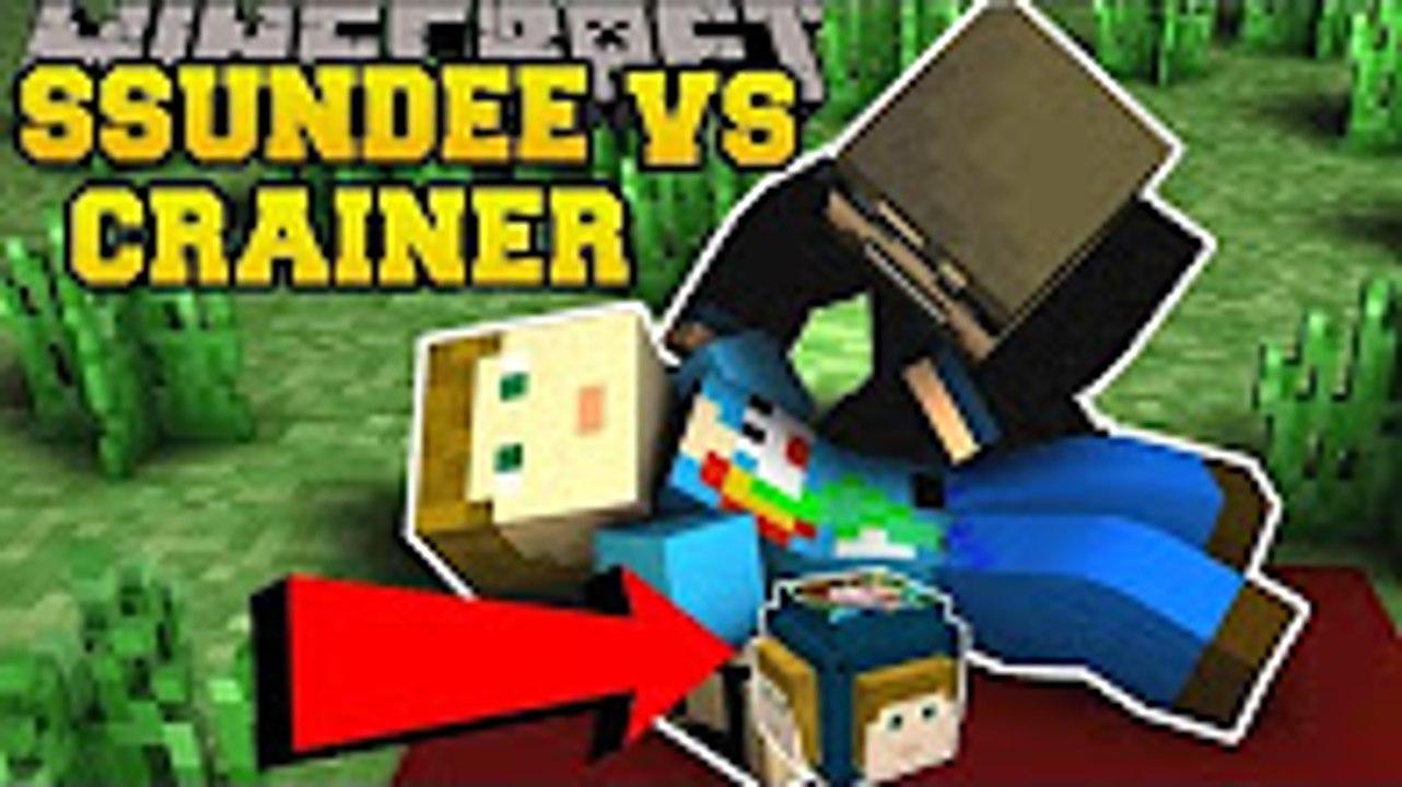 PopularMMOs Minecraft׃ SSUNDEE VS CRAINER CHALLENGE GAMES - Lucky Block Mod  - Modded Mini-Game