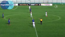 Brazilian footballer scores direct from kick-off in league match – video