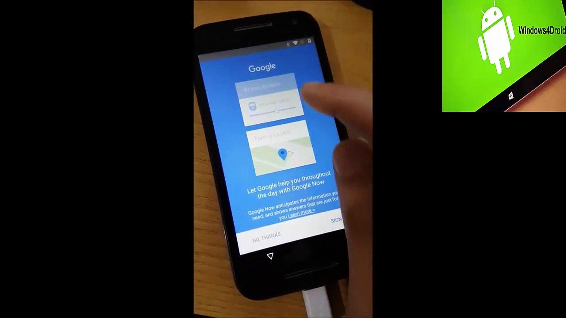 حذف حساب جوجل لجهاز Motorola  مارشميلو 6.0.1