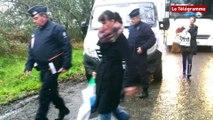 Affaire Troadec. 150 policiers, gendarmes et CRS sur site