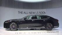 Lexus LS : vraie limousine - Salon de Genève 2017