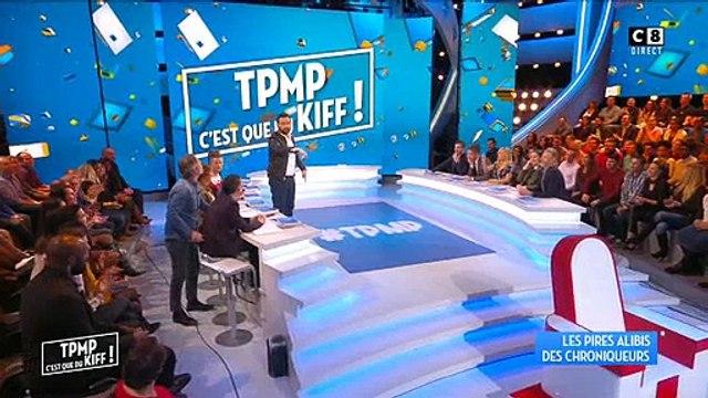 """Jean-Michel Maire dérape de nouveau dans """"Touche pas à mon poste"""", Cyril Hanouna le sanctionne - Regardez"""