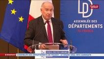 """""""Les départements ont failli mourir mais ils sont toujours là"""" Dominique Bussereau"""