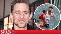 Tom Hiddleston se braque face aux questions sur sa relation avec Taylor Swift