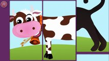 Baby Play Animal Match Up Kids Games - Play and Learn Animals Mix & Matching Game