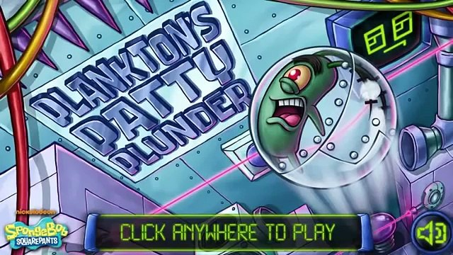 SpongeBob SquarePants: Planktons Patty Plunder - Get The Krabby Patty Formula! (Gameplay)