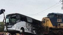Usa, treno investe un bus in Mississippi: almeno quattro morti