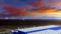 Le futur lanceur New Glenn de Blue Origin