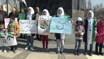 Suriyeli Kadınlardan Esad Rejiminin Kadınlara Uyguladığı Zulme Tepki