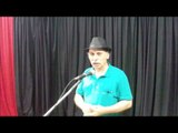 #05 Poesia - Wilson Jasa - Amada Minha - Poema autoral de amor - 90º Café com Poesia - 28.01.2017