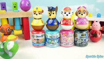 Paw Patrol Weebles Mashems & Fashems Wobble Collection Disney Toys Surprise Learn Colors