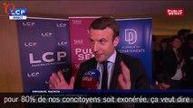 Taxe d'habitation : Emmanuel Macron rassure les collectivités locales