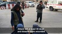 Blasts, gunfire as insurgents attack Kabul military hospital