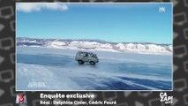 Ils roulent sur le lac Baikal gelé !