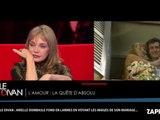 Arielle Dombasle en larmes face aux images de son mariage avec Bernard-Henri Lévy dans Le Divan (Vidéo)