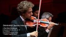 Tchaïkovski : Souvenir d'un lieu cher op. 42 (extraits) Scherzo par Emmanuel Coppey et Frédéric Lagarde