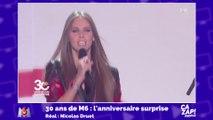 Ophélie Meunier pousse la chansonnette pour les 30 ans de M6 !