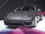 Porsche Panamera Sport Turismo en direct du salon de Genève 2017