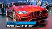 Genève 2017 - Présentation de la Mercedes AMG Concept