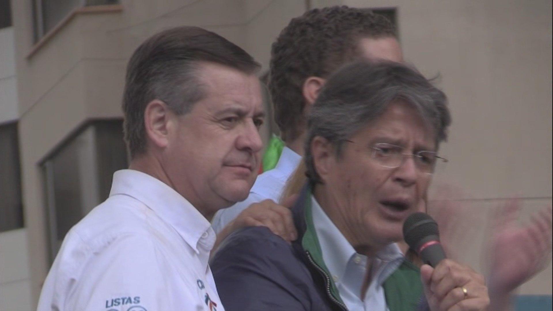 Lasso anhela la presidencia de Ecuador para contribuir a la democracia en América Latina