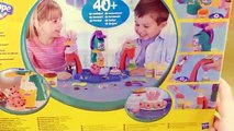 Play Doh Sweet Shoppe Frosting Fun Bakery How to Make Playdough Sweet Confections Hasbro T