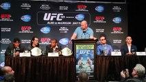 UFC 189 Press Conference in Toronto with Dana White, Conor McGregor, Jose Aldo, Robbie Law