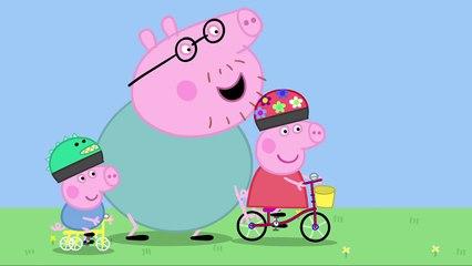 2. алле меньше чем против с дель Ла Ля в в Пеппа свинья видео абстрактный велосипед взят