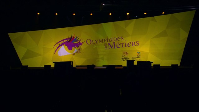 Olympiades des Métiers 2017 - Ouverture