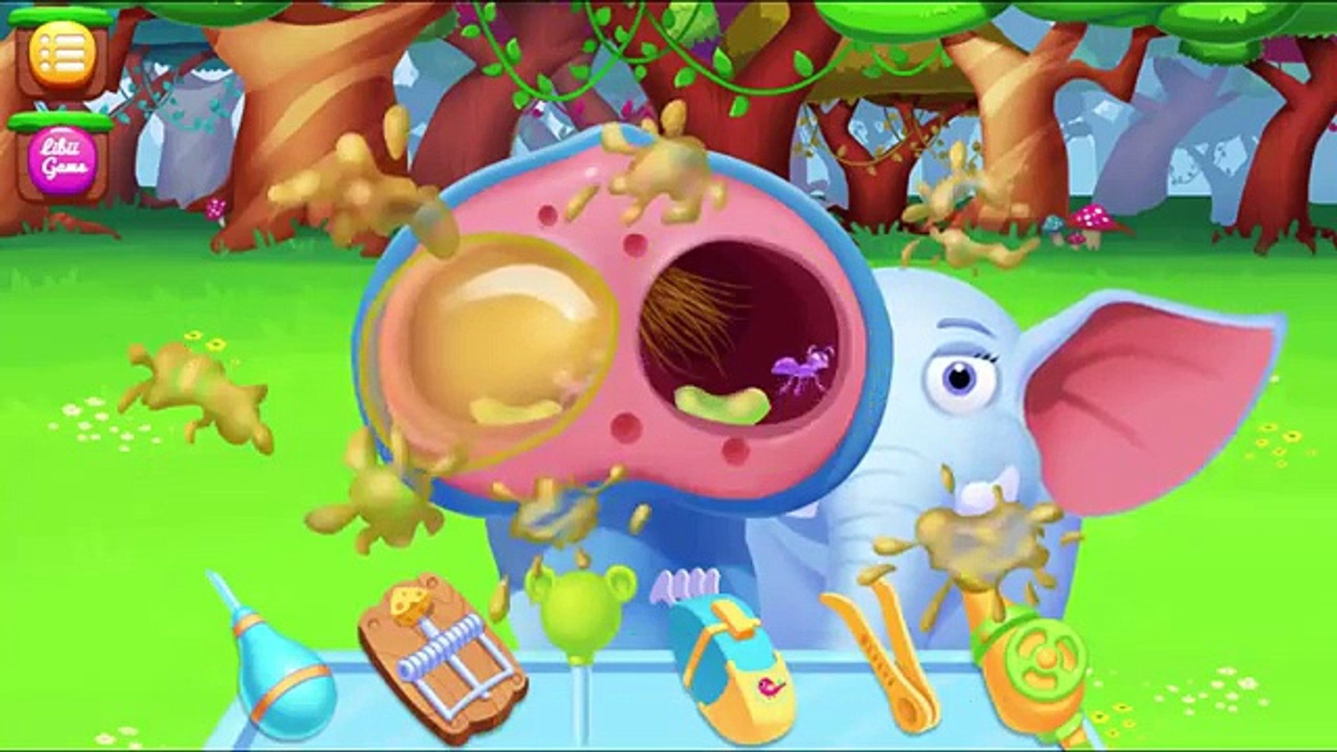 Джунгли доктор Приключение андроид Игры кино программы обучение с животные доктор игра