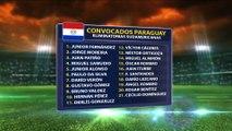Convocados de la selección de Paraguay para enfrentar a Ecuador por las eliminatorias Rusia 2018