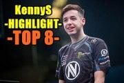 HIGHLIGHT KENNYs - TOP 8 JOGADAS DE KENNYs