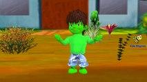 Johny Johny Yes Papa(Hulk Johny)&Finger Family Nursery Rhymes  Kids Songs  Baby Songs  Fam