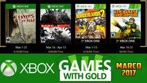 Jogos GRÁTIS Xbox LIVE GOLD de Março 2017 (Xbox 360   Xbox ONE)