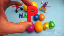 Kinder Surprise Egg Learn-A-Word! Spelling Christmas Words! Lesson 4