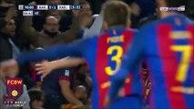 FC Barcelone vs PSG  BUT de Sergi Roberto (6-1) 95' - PSG ÉLIMINÉ !!