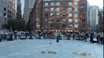 Make Music Boston 2015 2-5 6/21/15 Summer Solstice Round, Too Many Trombones