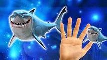 Sharks Children Finger Family Rhymes | Bambi Cartoons Finger Family Nursery Rhymes For Children
