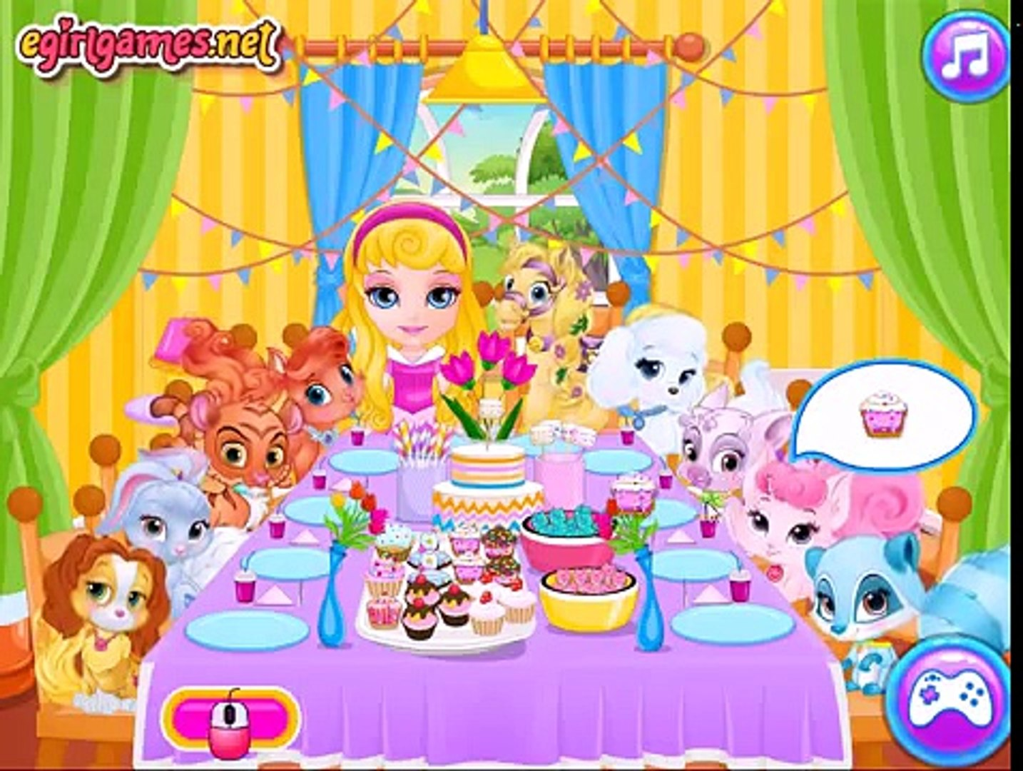 Baby Barbie Palace Pets Pj Party - Baby Barbie Disney Princess Palace Pet Party Game For K