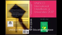 UNESCO International Handbook of Universities 2017 Free Download WHED World Higher Educationa Database IAU International