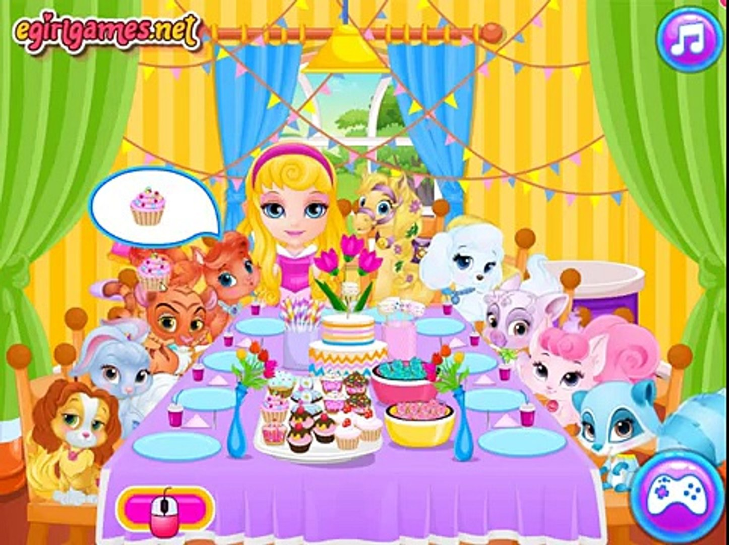 Barbie Games - Baby Barbie Palace Pets Pj Party - Baby Games HD new