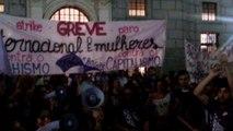 Mulheres marcham por igualdade em São Paulo - VERSO TV