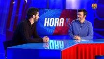 """L'entrevista a Sergi Fernàndez a """"L'Hora B"""" abans del partit de la Lliga Europea contra el Forte dei Marmi"""