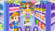 Baby Arya doing shopping in a store. Arya Treats Doll. Game App For Kids.