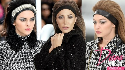 How To: Gigi Hadid and Kendall Jenner's 2017 Chanel Paris Fashion Week Hair and Makeup Tutorial