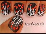 dancing hearts nail art cute nail designs and cute nail art