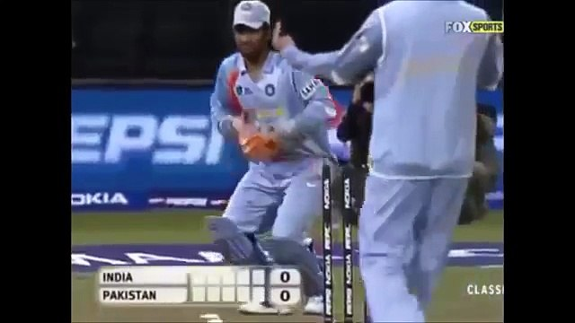 IND VS PAK 2007 T20 WORLD CUP FINAL- SUPER OVER HIGHLIGHTS - YouTube