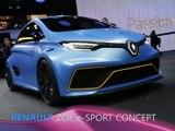 Renault Zoe e-Sport Concept en direct du Salon de Genève 2017
